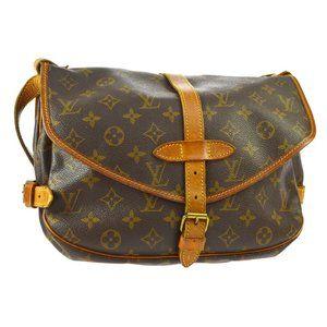 Auth Louis Vuitton Saumur 30 Messenger #8308L38B